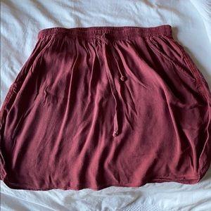 Anthropologie cloth skirt